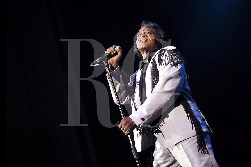 James Brown.at the Carling Acadamy Glasgow. 2004