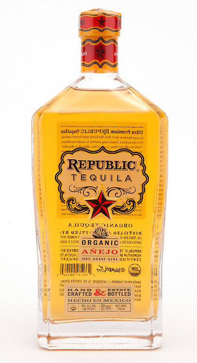 Republic Tequila Anejo -- Image originally appeared in the Tequila Matchmaker: http://tequilamatchmaker.com