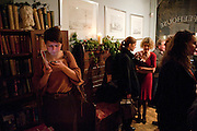ROSIE SCAMMELL, Launch of a new book series by Notting Hill Editions. The Idler Academy. Wetbourne Park Rd. London. 14 December 20911.