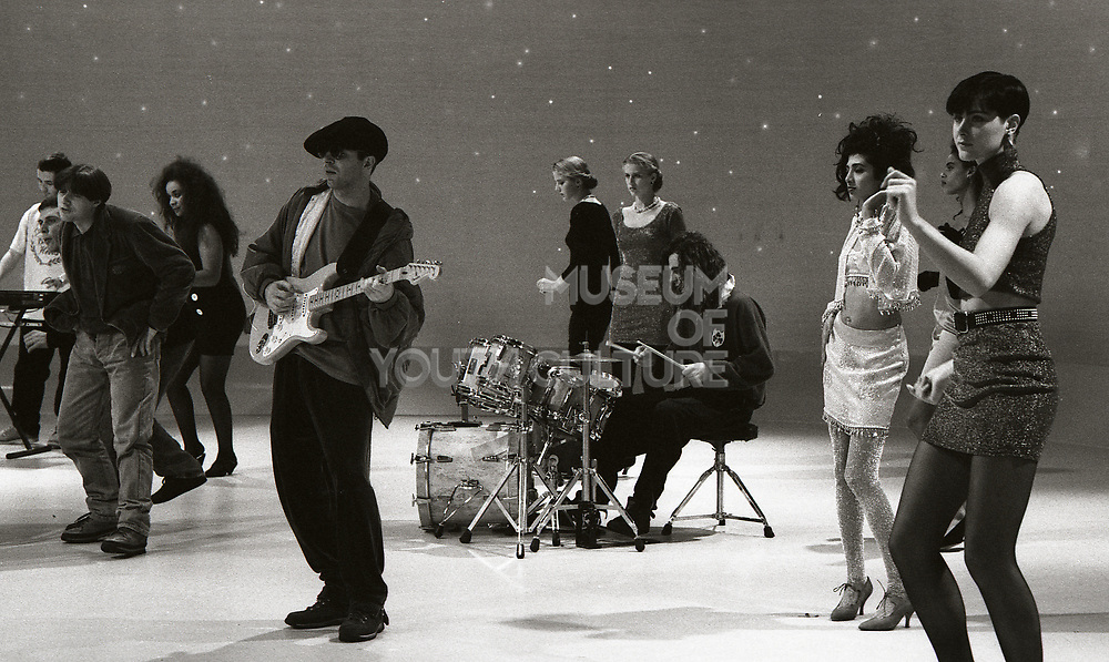 Happy Mondays, 'Kinky Afro' music video shoot, 1990