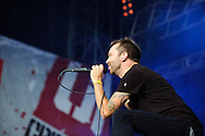 Rise Against at Open Flair Festival 2011 in Eschwege. Photo by Ruediger Knuth.