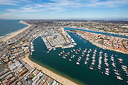 Aerial Stock Photo Of North Newport Beach