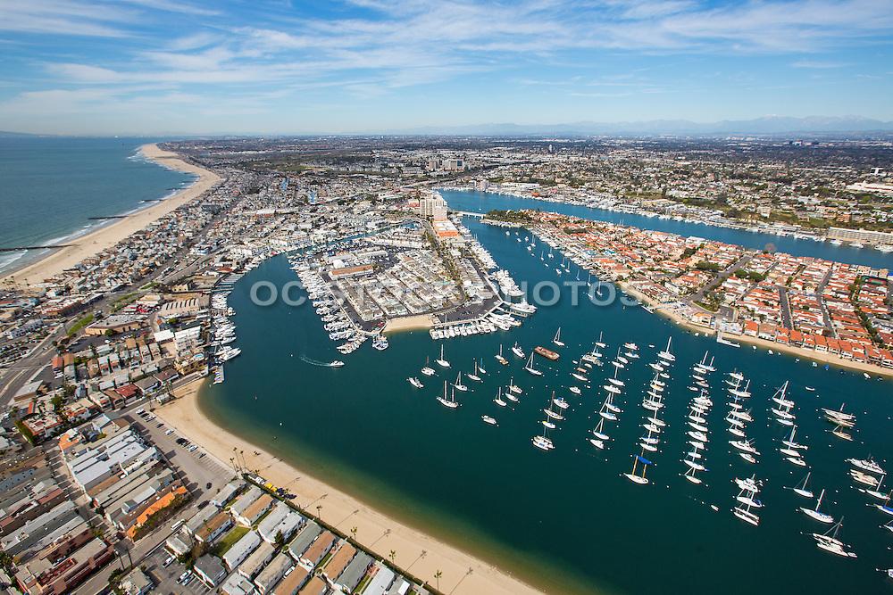 Aerial Stock Photo Of North Newport Beach