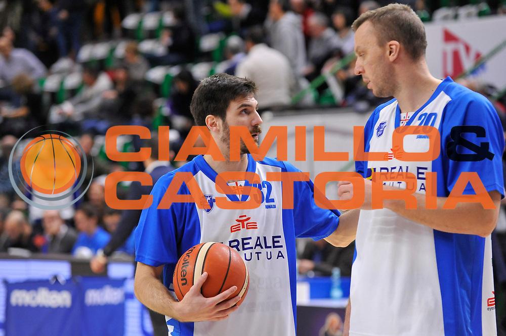 Diego Monaldi - Dusko Savanovic<br /> Banco di Sardegna Dinamo Sassari - Vanoli Cremona<br /> LegaBasket Serie A LBA Poste Mobile 2016/2017<br /> Sassari 26/11/2016<br /> Foto Ciamillo-Castoria