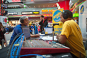 Chairperson Nobuzwe Mbuyiso live on Radio 90.4 DJ at the Stop Hunger Now packaging event taking place at Century City, Cape Town on Mandela Day.