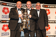 Promotion Final winners South - Woking during the National League Gala Awards at Celtic Manor Resort, Newport, United Kingdom on 8 June 2019.