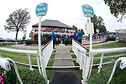A general view of the Weighing Room prior to the  during the Ebor Festival at York Racecourse, York, United Kingdom on 22 August 2019.