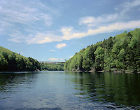 French King Gorge on the Connecticut River, near Gill, MA