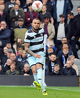 Football - 2016 /2017 Championship - Fulham vs Queens Park Rangers<br /> <br /> Joel Lynch of QPR at Craven Cottage<br /> <br /> Credit : Colorsport / Andrew Cowie