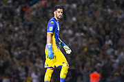 Leeds United goalkeeper Francisco Casilla (13) during the EFL Cup match between Leeds United and Stoke City at Elland Road, Leeds, England on 27 August 2019.