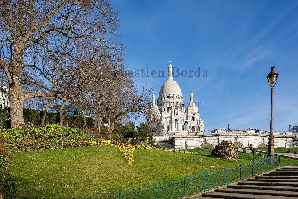 Basilique du Sacré-coeur de Montmartre // Sacré- coeur basilica in Montmartre area