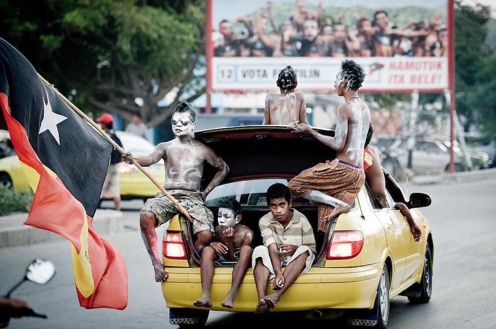 Dili, East Timor, 03 July 2012<br /> Fretilin party political rally.<br /> Photo: Ezequiel Scagnetti &copy; European Union