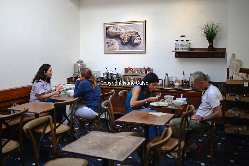 La Boulangerie in Russian Hill area, San Francisco.