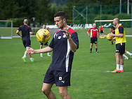 Dundee new boy Michael Duffy -  Dundee FC pre-season training camp in Obertraun, Austria<br /> <br />  - &copy; David Young - www.davidyoungphoto.co.uk - email: davidyoungphoto@gmail.com