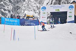 FITZPATRICK Menna Guide: KEHOE Jennifer, B2, GBR, Women's Slalom at the WPAS_2019 Alpine Skiing World Championships, Kranjska Gora, Slovenia