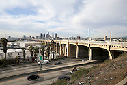 Historic 6th Street Bridge In Downtown LA Closed Ahead Of Demolition