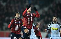 Anwar El Ghazi ( Lille ) <br /> <br /> FOOTBALL : Lille OSC vs SCO Angers - Ligue 1 - Lille - 11/02/2017<br /> <br /> Norway only