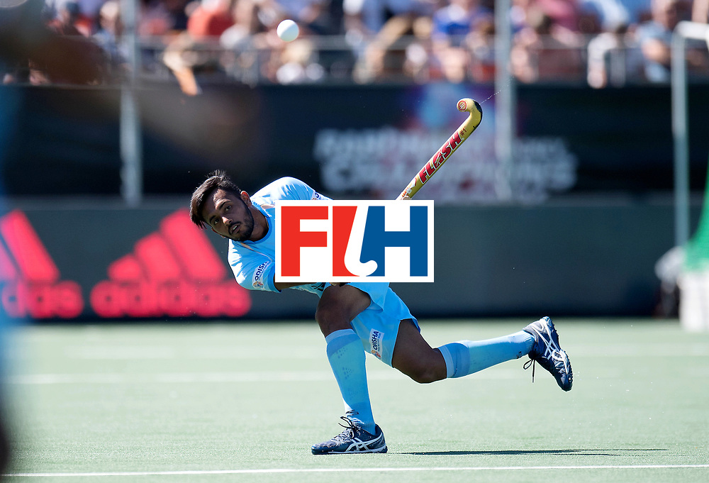 BREDA - Rabobank Hockey Champions Trophy<br /> Final Australia - India<br /> Photo: Harmanpreet Singh.<br /> COPYRIGHT WORLDSPORTPICS FRANK UIJLENBROEK