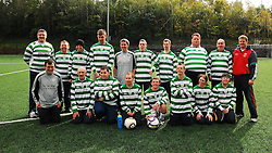 Rehab Care Soccer Team that took part in the match against Westport United Western Care...Pic Conor McKeown