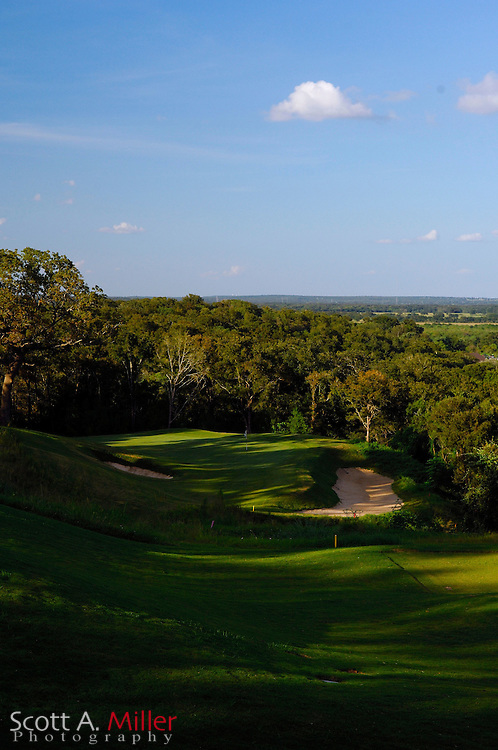 September 8, 2007, Lost Pines, Texas; Hole No. 12 at Wolfdancer Golf Club......©2007 Scott A. Miller