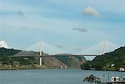 Vista del puente Centenario. Segundo puente que pasa sobre el  Canal de Panama. Panama, 18 de octubre de 2008. (Daniel Ho/Istmophoto)
