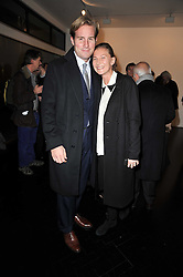 ELIZABETH VON GUTTMAN and MATT SHELTON at a private view of 'Engagement' an exhibition of new works by Jennifer Rubell held at the Stephen Friedman Gallery, 25-28 Old Burlington Street, London on 7th February 2011.