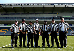 Referees for the BAFA Britbowl National League Finals 2017 - Mandatory by-line: Robbie Stephenson/JMP - 26/08/2017 - AMERICAN FOOTBALL - Sixways Stadium - Worcester, England - East Kilbride Pirates v London Blitz - BAFA Britbowl National League Finals 2017