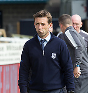 August 5th 2017, Dens Park, Dundee, Scotland; Scottish Premiership; Dundee versus Ross County; Dundee manager Neil McCann
