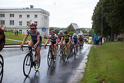 Gabrielle Pilote-Fortin (CAN) of Cervélo-Bigla Cycling Team digs deep near the front in the penultimate lap of the 97,1 km second stage of the 2016 Ladies' Tour of Norway women's road cycling race on August 13, 2016 between Mysen and Sarpsborg, Norway. (Photo by Balint Hamvas/Velofocus)