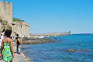 Collioure, Pyrenees Orientales, France