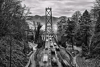 Lions Gate Bridge, Stanley Park, Vancouver