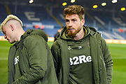 Gaetano Berardi of Leeds United (28) arrives at the ground during the EFL Sky Bet Championship match between Leeds United and West Bromwich Albion at Elland Road, Leeds, England on 1 March 2019.
