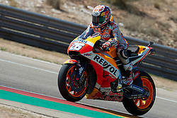 September 22, 2018 - Dani Pedrosa (Repsol Honda Team)in action during  Gran Prix Movistar the Aragón. 22-09-2018  September 22, 2018. (Credit Image: © AFP7 via ZUMA Wire)