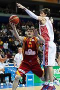 DESCRIZIONE : Vilnius Lithuania Lituania Eurobasket Men 2011 Second Round Russia Macedonia Russia FYR of Macedonia<br /> GIOCATORE : Darko Sokolov<br /> CATEGORIA : tiro penetrazione<br /> SQUADRA : Macedonia FYR of Macedonia<br /> EVENTO : Eurobasket Men 2011<br /> GARA : Russia Macedonia Russia FYR of Macedonia<br /> DATA : 12/09/2011<br /> SPORT : Pallacanestro <br /> AUTORE : Agenzia Ciamillo-Castoria/M.Metlas<br /> Galleria : Eurobasket Men 2011<br /> Fotonotizia : Vilnius Lithuania Lituania Eurobasket Men 2011 Second Round Russia Macedonia Russia FYR of Macedonia<br /> Predefinita :