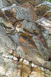 Granite Abstract, Sheep Island, Castine, Maine, US