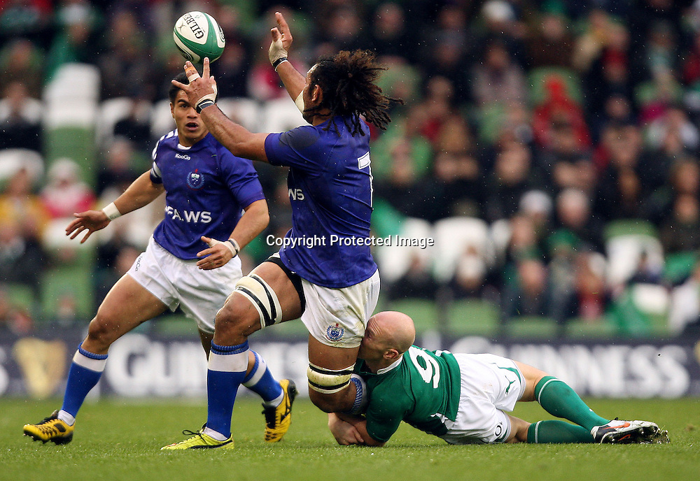 Guinness Autumn Series International, Aviva Stadium, Dublin 13/11/2010<br />