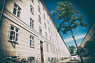 Architecture along Frederiksberg in Copenhagen.