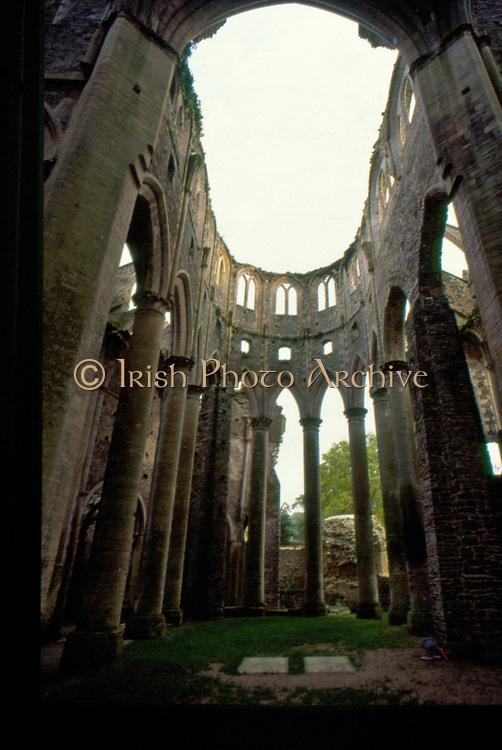 France, Normandy.  Abbaye de Hambye.  Built 1145, now a ruin.