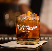 PR event for Amaro Montenegro liqueur at the No Vacancy venue in Hollywood, Calif.