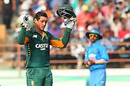Cricket - India v South Africa 3rd ODI at Rajkot