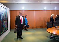 DEU, Deutschland, Germany, Berlin, 16.10.2019: Bundeswirtschaftsminister Peter Altmaier (CDU) vor Beginn der 71. Kabinettsitzung im Bundeskanzleramt.