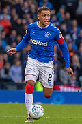 Rangers Captain James Tavernier (C) of Rangers FC during the Betfred Scottish League Cup semi-final match between Rangers and Heart of Midlothian at Hampden Park, Glasgow, United Kingdom on 3 November 2019.