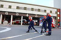 Ludwigshafen. 06.10.14 BASF. Werksgel&auml;nde. Werksfeuerwehr. Jugendfeuerwehr.<br /> <br /> Bild: Markus Pro&szlig;witz 06OCT14 / masterpress