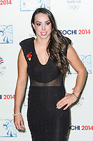 Beth Tweddlel , British Olympic Ball, Dorchester (Opal Room), London UK, 30 October 2013, Photo by Raimondas Kazenas