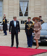 King Willem-Alexander and Queen Maxima State Visit to France, 10-03-2016