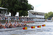 Henley, Great Britain.  Thames Challenge Cup, Berk's, Agecroft Rc and Tideway Scullers School, at the 2007 Henley Royal Regatta,  Henley Reach, England 07/07/2007   [Mandatory credit Peter Spurrier/ Intersport Images]. Rowing Courses, Henley Reach, Henley, ENGLAND . HRR.