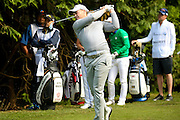 English golf professional Danny Willett at the BMW PGA Championship at the Wentworth Club, Virginia Water, United Kingdom on 27 May 2016. Photo by Simon Davies.