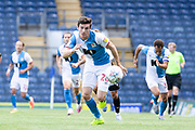 Blackburn Rovers midfielder Darragh Lenihan in action during the EFL Sky Bet Championship match between Blackburn Rovers and Bristol City at Ewood Park, Blackburn, England on 20 June 2020.