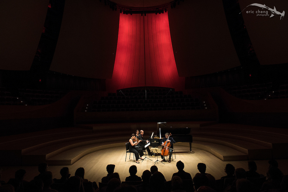 Gryphon Piano Trio at free noon recital, Bing Concert Hall #slsq2014