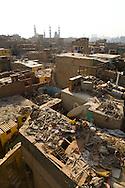 Egypt. Cairo - CEMETERY NORTH  view from the Sabil Kuttab TARABAY ASH Sharifi .street, islamic Cairo    NM255 +